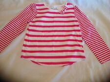 Jumping Beans 4T Pink Striped Cotton Top