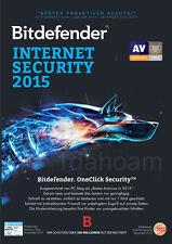 Bitdefender Internet Security 2015 1PC 2 Jahre Verlängerung oder Neuinstallation