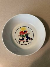 Vintage Anacapa Melamine Baby/Toddler  Bowl  Raggedy Ann & Andy