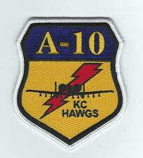 """303rd  FIGHTER SQUADRON A-10 """"KC HAWGS"""" patch"""