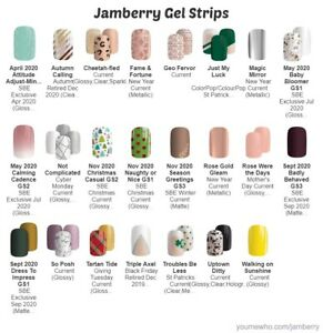 Jamberry  ~  Gel Strips ~ FREE SHIPPING