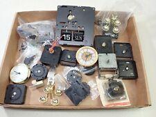 New ListingLot Of Nos Quartz Mantel Shelf Clock Movements Parts Repair