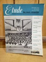Etude: The Music Magazine, October 1952 Denmark's Royalty Bow's to The Ballet