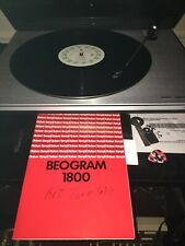 Bang & Olufsen Beogram 1800 Turntable with MMC 4   Cartridge