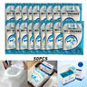 50pcs Disposable Toilet Seat Cover Safety Travel Bathroom  Toilet Paper Pad