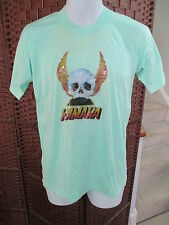 Vintage Yamaha T Shirt Iron On Skull  Wings Motorcycle Size Large