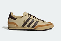 adidas Originals Cord Vintage Retro Leather Shoes in Brown and Sand