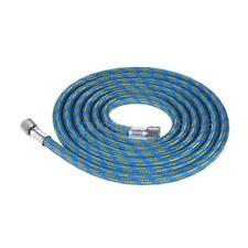 1.8m/ 5.9ft Airbrush Adaptor Hose Nylon Rubber Braided Air Brush 1/8 Fitting End