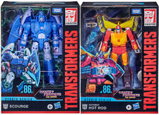 """Transformers Studios Series 6""""Figure Voyager 2021 Set 2 Hot Rod Scourge In Stock"""