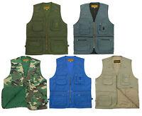 GAME Multi Pocket KEEPER Utility Vest / Waistcoat - Fishing, Hunting, Hiking