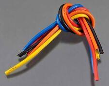 TQ Wire RC Wiring 1105 10 Gauge Wire 1' BL 5-Wire Kit Blck/Red/Blu/Ylw/Or