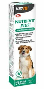 Mark & Chappell Nutri-Vit Plus 100g Dog & Puppy Vitamin Energiser Illness Energy