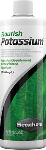 Seachem Flourish POTASSIUM 500ml Plant Fertilizer Aquarium Growth Plants Tank