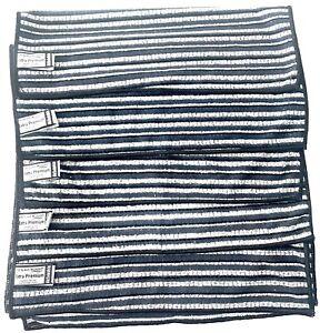 5 x Das Blaue Wunder Extra Premium Geschirrtuch mit Bambusfasern Schwarz