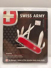 "Wenger Genuine Swiss Army ""Traveler"" Folding Knife 3 1/2"" NOS"