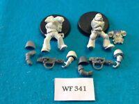 Warhammer 40K - Space Marines - Tactical With Melta Gun x2, 32 mm Bases - WF341