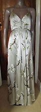 TED BAKER Ltd Edition Nina Campbell SILK Orchard Blossom Maxi Dress TedB 3 UK 12