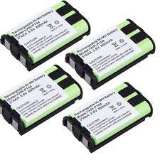 4x Cordless Home Phone Battery For Panasonic HHR-P104 KX-FG6550 850mAh 3.6V US