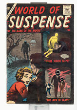 World of Suspense # 5 in Good+ condition