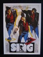 Filmplakatkarte cinema  Sing - Die Brooklyn-Story   Lorraine Bracco,Peter Dobson