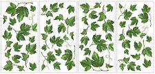 EVERGREEN IVY wall stickers 38 decals room decor leaves kitchen vines