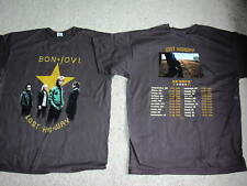 BON JOVI PHOTO STAR LOST HIGHWAY EUROPE 2008 TOUR T SHIRT XL NEW OFFICIAL RARE