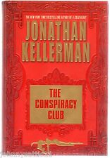 1st/1st Edition The Conspiracy Club by Jonathan Kellerman (2003, Hardcover)