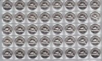 Canada 1965 UNC BU MS Nickel Roll of 40 Coins!!