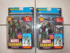(2) Marvel Legends *** GREEN GOBLIN *** Onslaught Series Figures -VARIANT & Reg.