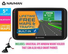"Navman MY400LMT 5"" GPS Navigator Touch screen Bluetooth Lifetme Free Maps"