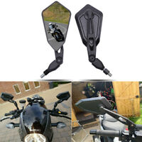 Motorcycle Folding Rearview Wing Mirrors For BMW Honda Suzuki Kawasaki Yamaha US