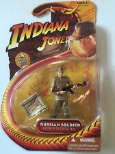 "Indiana Jones Action Figure of RUSSIAN SOLDIER From The Crystal Skull 3.75"" Tall"