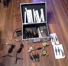 Used Tattoo Machines w Accessories in Metal Case