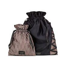 VICTORIA'S SECRET Lingerie Two Piece Drawstring Bag Set