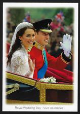 Royal Wedding Photo Postcard – William & Katherine #UX251 Canada 2011