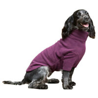 HOTTERdog Dog Jumper Grape Purple Small Fleece by Equafleece Water Repellent