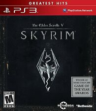 The Elder Scrolls V: Skyrim (Sony PlayStation 3, 2011)  BRAND NEW, FREE SHIPPING