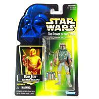 Kenner Star Wars The Power of the Force Boba Fett 1997 Action Figure Unopened