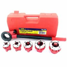 """HFS Pipe Threading Tool With Ratchet Handle - 3/8"""", 1/2"""", 3/4"""", 1"""", 1-1/4"""""""