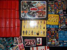 VTG~1977~1981~1982~Kenner~Star~Wars~esb~vinyl~RED~TRAY~action~figure~case~lot~12