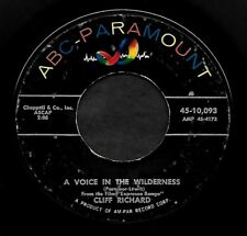 """CLIFF RICHARD """"A VOICE IN THE WILDERNESS/Don't..."""" ABC PARAMOUNT 10093 (1960) 45"""