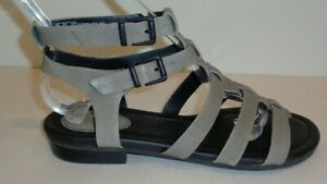 Clarks Size 8 M VIVECA MYTH Sage Leather Gladiator Sandals New Womens Shoes