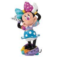 """Figura Enesco Disney estatua MINNIE MOUSE por """"ROMERO BRITTO"""" RESINA estatuilla"""