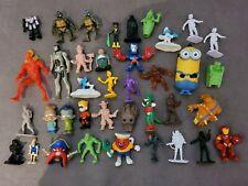 Lot of Star Wars Action Figures groot homies venom Disney Iron man transformers