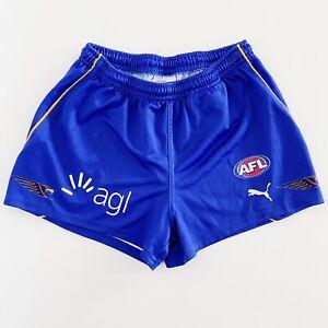 West Coast Eagles Puma AFL Football Shorts Mens Medium