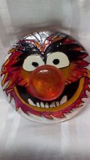 Hand Painted Animal Muppet Drummer Trinket Box  Glass Gift