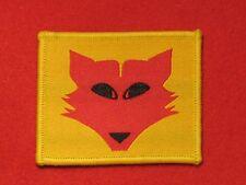 BRITISH WORLD WAR 2 10TH ARMOURED DIVISION FORMATION BADGE FOX HEAD