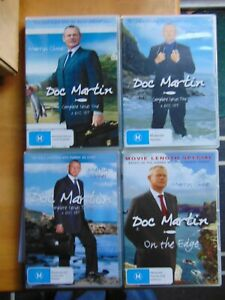 Doc Martin - Series 1, 2, 3 plus On The Edge Special - Region 4 DVD - FREE POST