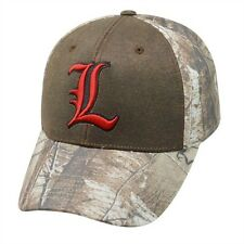 buy popular 86721 69e33 Louisville Cardinals Hat Memory Fit Top Of The World Habitat Realtree M L