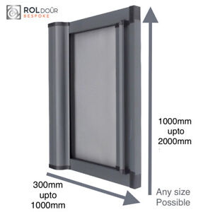 Large Retractable Roller Sliding Door for Shower Camper Any Size Made to order